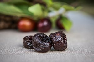 California Prune Orchard, growing and harvesting
